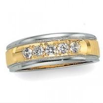 Five Stone Diamond Anniversary Rings (0.2 Ct. tw.) (0.2 Ct. tw.)