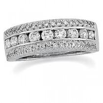 Pave Diamond Anniversary Rings (1.2 Ct. tw.) (1.2 Ct. tw.)