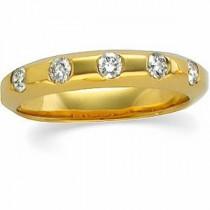 Five Stone Diamond Anniversary Rings (0.33 Ct. tw.) (0.33 Ct. tw.)