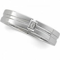 Diamond Wedding Band  (0.05 Ct. tw.)