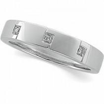 Three Stone Diamond Anniversary Rings (0.03 Ct. tw.) (0.03 Ct. tw.)