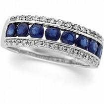 Diamond Gemstone Anniversary Rings  (0.2 Ct. tw.) (0.2 Ct. tw.)