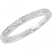 Channel Set Diamond Anniversary Rings (0.1 Ct. tw.) (0.1 Ct. tw.)