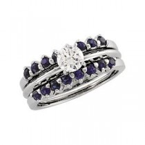 Sapphire Bridal Ring Guard