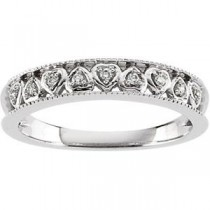 Multi Stone Diamond Anniversary Rings (0.05 Ct. tw.) (0.05 Ct. tw.)