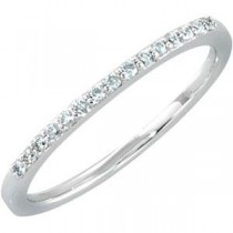 Pave Diamond Anniversary Rings (0.125 Ct. tw.) (0.125 Ct. tw.)