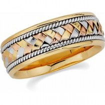 Tri Color Handwoven Band (8.00 mm)