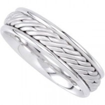 Handwoven Comfort Fit Band (6.50 mm)