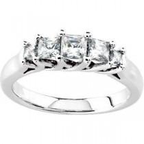 Five Stone Diamond Anniversary Rings (0.75 Ct. tw.) (0.75 Ct. tw.)