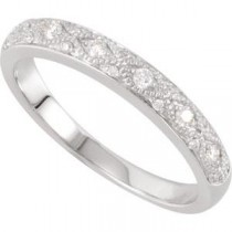 Pave Diamond Anniversary Rings (0.16 Ct. tw.) (0.16 Ct. tw.)