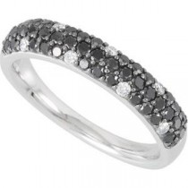 Pave Diamond Anniversary Rings (0.75 Ct. tw.) (0.75 Ct. tw.)