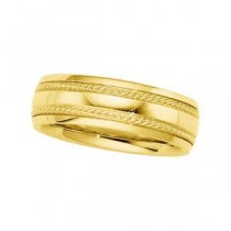 Classic Milgrain Wedding Band (6.00 mm)