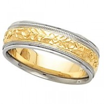 Classic Milgrain Wedding Band (6.25 mm)