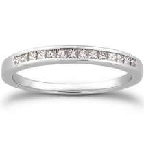 Diamond Bridal Band in 14K Yellow Gold