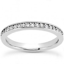Matching Round Band in 14K Yellow Gold