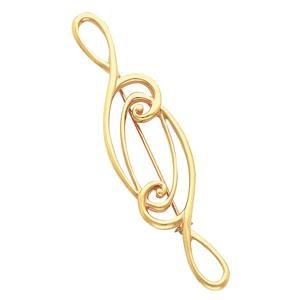 Fashion Brooch in 14k Yellow Gold