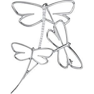 Diamond Dragonfly Brooch (0.2 Ct. tw.) (0.2 Ct. tw.)