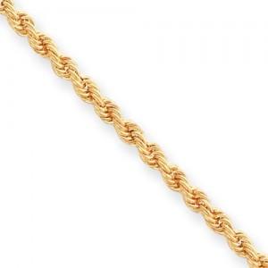 Diamond Cut French Rope Bracelet in Fashion