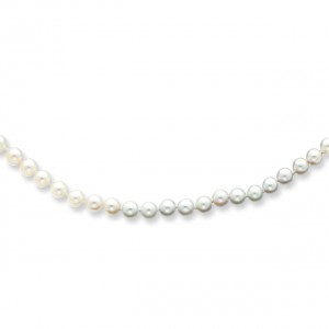 5.5mm Akoya Pearl Bracelet in 14k Yellow Gold