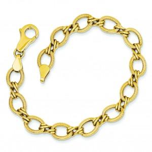 Fancy Bracelet in 14k Yellow Gold