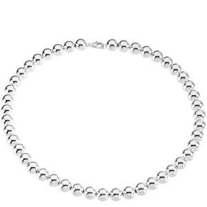 Bead Bracelet in Sterling Silver