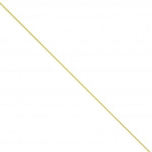 14k Yellow Gold 6 inch 1.20 mm Parisian Wheat Chain Bracelet