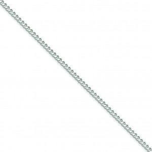 Sterling Silver 7 inch 3.00 mm  Curb Chain Bracelet