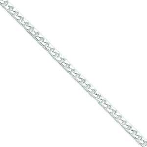 Sterling Silver 7 inch 4.60 mm  Curb Chain Bracelet