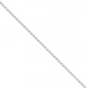 Sterling Silver 8 inch 2.25 mm Fancy Link Chain Bracelet