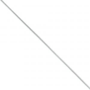 Sterling Silver 8 inch 1.25 mm Diamond-cut Round Franco Chain Bracelet