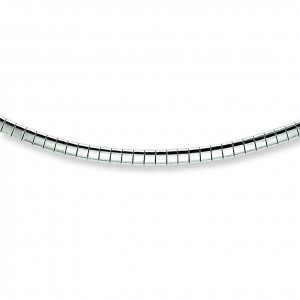 Sterling Silver 16 inch 2.00 mm Cubetto Fancy Choker Necklace