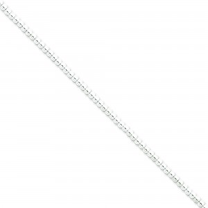 Sterling Silver 18 inch 3.00 mm  Bead Collar Necklace