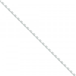 Sterling Silver 18 inch 1.65 mm  Box Collar Necklace