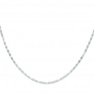 Sterling Silver 8 inch 2.25 mm Open Link Chain Bracelet