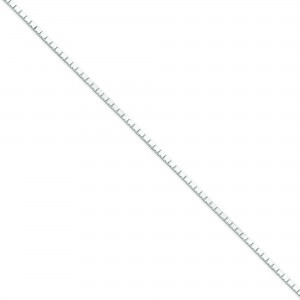 Sterling Silver 16 inch 1.50 mm  Box Choker Necklace