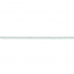 Sterling Silver 18 inch 1.25 mm  Box Collar Necklace