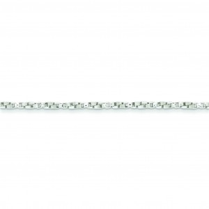 Sterling Silver 16 inch 2.25 mm  Box Choker Necklace