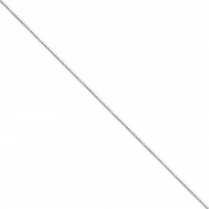 Sterling Silver 16 inch 0.90 mm  Box Choker Necklace