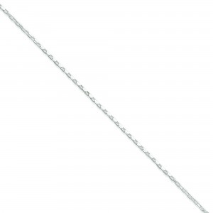 Sterling Silver 18 inch 1.30 mm  Box Collar Necklace