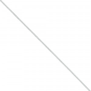 Sterling Silver 16 inch 1.15 mm Open Curb Choker Necklace