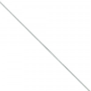 Sterling Silver 16 inch 1.25 mm Round Franco Choker Necklace