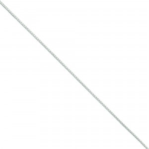 Sterling Silver 18 inch 1.25 mm Round Spiga Collar Necklace