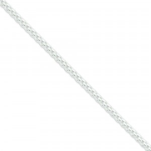 Sterling Silver 16 inch 4.00 mm Round Spiga Choker Necklace