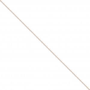 14k Yellow Gold 16 inch 0.80 mm  Box Choker Necklace
