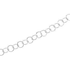 Sterling Silver 8 inch 12.00 mm  Round