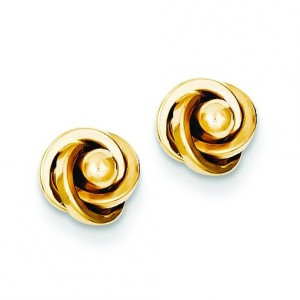 Love Knot Ear in 14k Yellow Gold