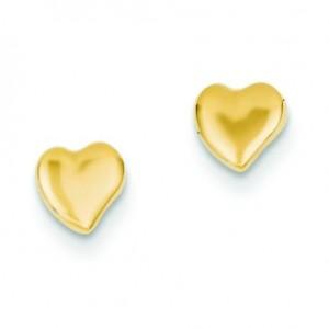 Heart Ear in 14k Yellow Gold