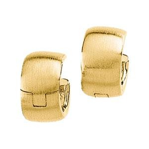 Hinged Earring in 14k Yellow Gold