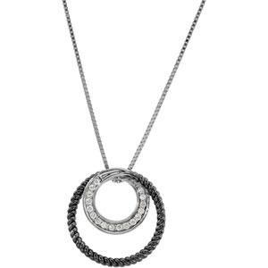 CT tw Diamond Circle Necklace