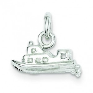 Yacht Charm in Sterling Silver